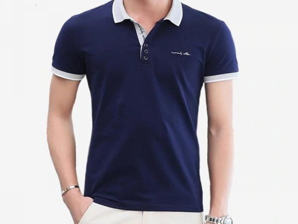 camisa polo manga corta-desmanchado-limpieza-planchado-a-mano